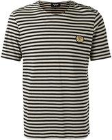 The Kooples striped badge T-shirt - men - Cotton - M