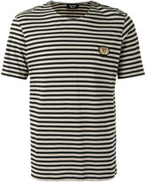 The Kooples striped badge T-shirt