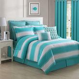 Fiesta Cabana Turquoise Reversible Comforter Set