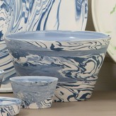 The Well Appointed House Global Views White and Blue Serving Bowl-Set of Three