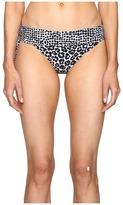 Stella McCartney Mixed Animal and Elastic Fold Down Bikini Bottom Women's Swimwear