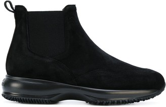 Hogan Pull-On Sneaker Boots
