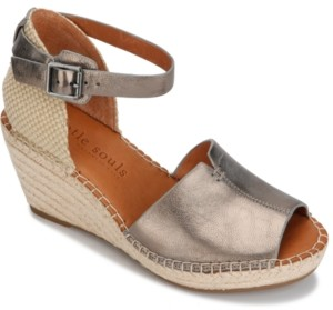 Gentle Souls by Kenneth Cole Women's Charli Wedge Sandals Women's Shoes