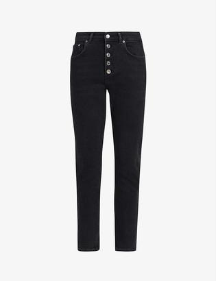 AllSaints Jules high-rise denim jeans