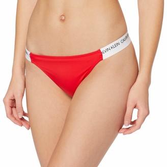 Calvin Klein Women's Cheeky Bikini-hr Bottoms