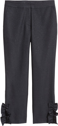 H&M Frilled trousers