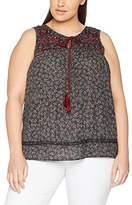 Evans Women's Print Sleeveless T-Shirt