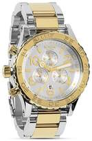 Nixon The 42-20 Chrono Two Tone Watch, 42mm