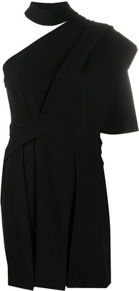 IRO Fundi one shoulder dress