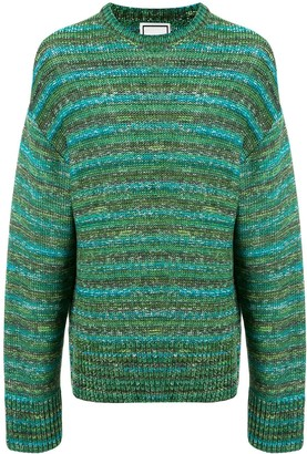 Wooyoungmi Striped Long-Sleeve Jumper