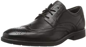Rockport Dressports Modern Wingtip, Men Brogue, Black (Black Leather), 11 UK (46 EU)