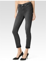 Paige Hoxton Crop Rollup - Smoke Grey