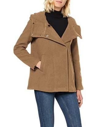 Only Women's Onlmaddie Rianna Hooded Wool Coat Cc OTW,S