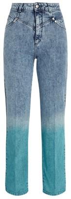 Stella McCartney Ombre Straight Jeans