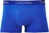 Calvin Klein Underwear Liquid Stretch Cotton Trunk Blue