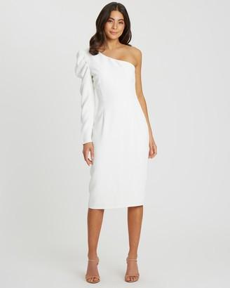 Tussah Jolie One-Shoulder Midi Dress