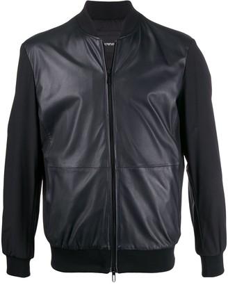 Emporio Armani Leather Short Jacket