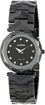 Jowissa Women's J1.024.M Safira 99 Rhinestone Ceramic Bracelet Watch