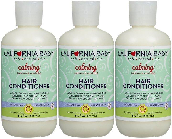 California Baby Hair Conditioner - Calming - 8.5 fl oz - 3 pk