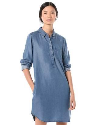 Goodthreads Amazon Brand Women's Tencel Popover Shirt Dress