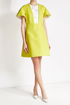 DELPOZO Cotton Dress with Embellishments