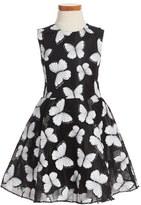 Halabaloo Butterfly Dress (Toddler Girls, Little Girls & Big Girls)