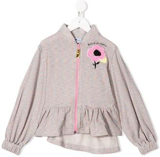 Raspberry Plum Sweetie hooded top