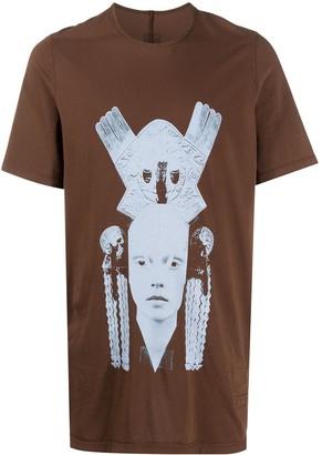 Rick Owens graphic print round neck T-shirt