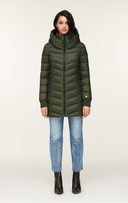 Soia & Kyo ALANIS water-repellent lightweight down coat
