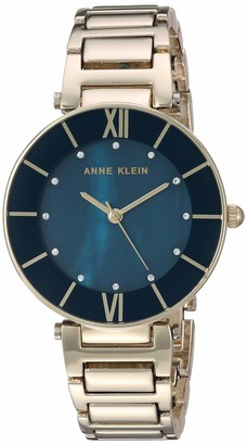 Anne Klein Dress Watch (Model: AK/3198NVGB)