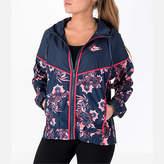 Nike Women's Sportswear Allover Print Windrunner Jacket