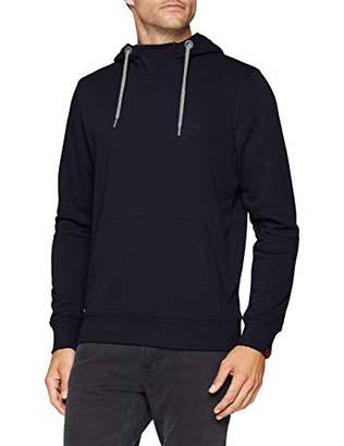 S'Oliver Men's 20.809.41.3479 Sweatshirt, (Blue 5900), L