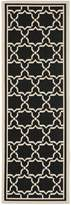 """Safavieh Courtyard Collection CY6916-226 and Beige Indoor/ Outdoor Runner, 2 feet 3 inches by 8 feet (2'3"""" x 8')"""