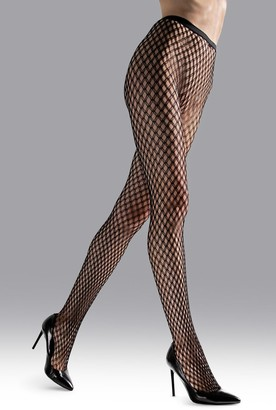 Natori Double Weave Net Tights