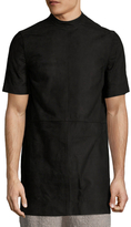 Rick Owens Moody Leather Solid T-Shirt
