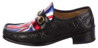 Gucci 2017 Vegas Union Jack Horsebit Loafers