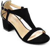 Black T-Strap Roxane Sandal