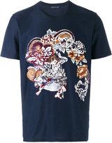 Etro floral embroidered t-shirt - men - Cotton/Viscose - S