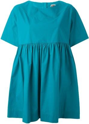 I'M Isola Marras pleat oversized blouse