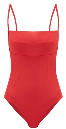 Haight Paula Square-neck Swimsuit - Womens - Red