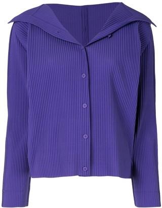 Issey Miyake Soft Pleated Cardigan