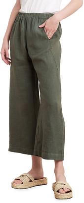 Velvet Lola Linen Crop Pants