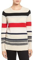 Halogen Patterned Cashmere Sweater (Regular & Petite)