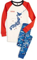 Tea Collection Toddler Boy's Japan Fitted Two-Piece Pajamas