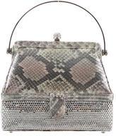 Judith Leiber Embellished Mini Handle Bag