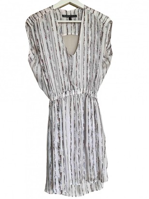 Theyskens' Theory White Silk Dress for Women
