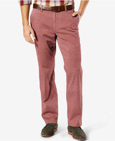 Dockers Straight Fit Washed Khaki Pants D2