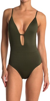 Becca Tie Back One-Piece Swimsuit