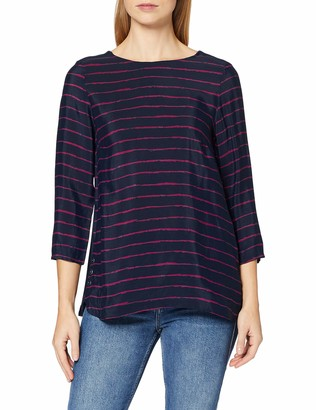 Dash Women's Painted Stripe Woven T - Shirt