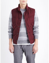 Brunello Cucinelli Quilted Wool And Linen-blend Gilet